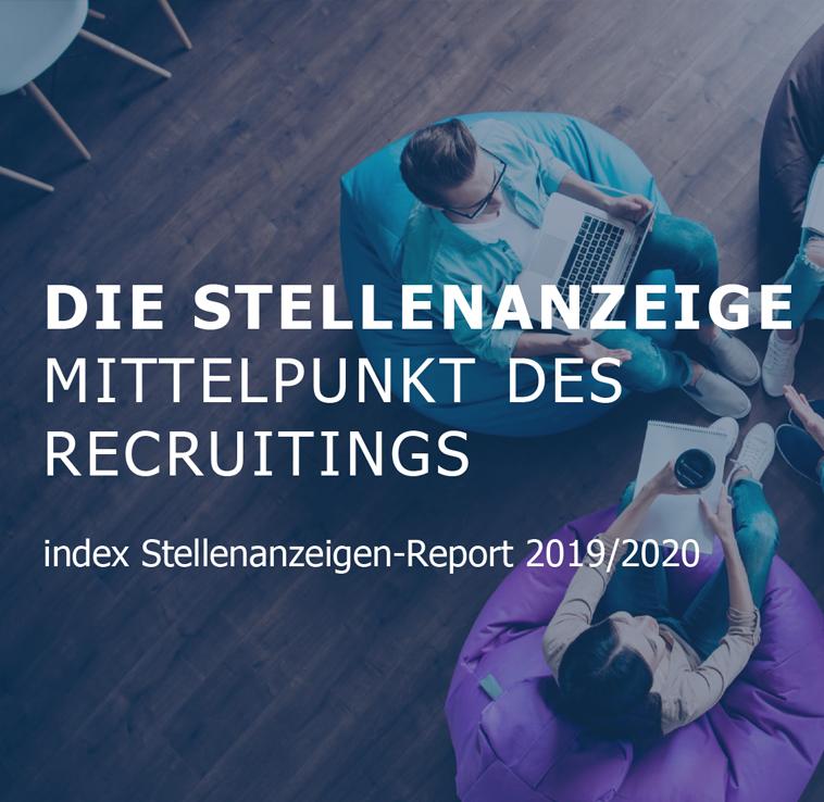 index Stellenanzeigen-Report 2019/2020