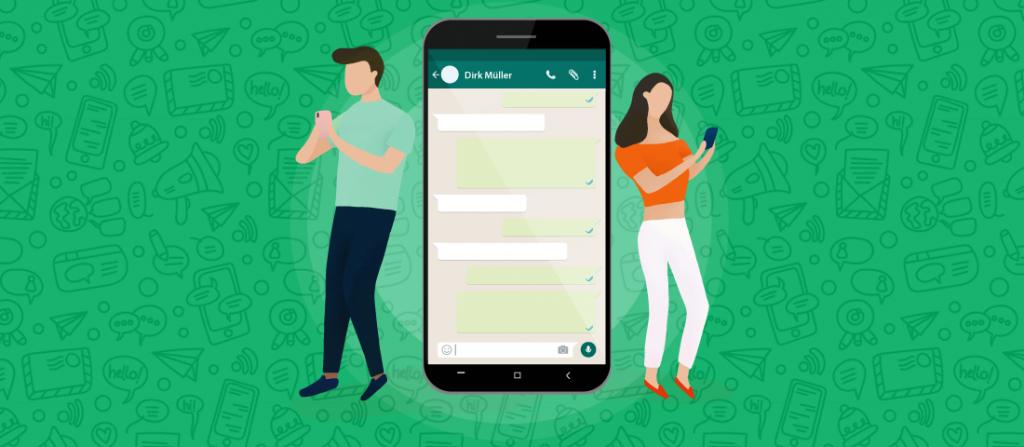WhatsApp in Stellenanzeigen