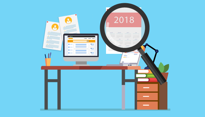 Rückblick Stellenmarkt-Entwicklung 2018