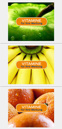 Neue Vitamin-Kampagne