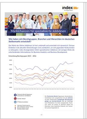 Whitepaper: Marktchancen für spezialisierte Jobbörsen