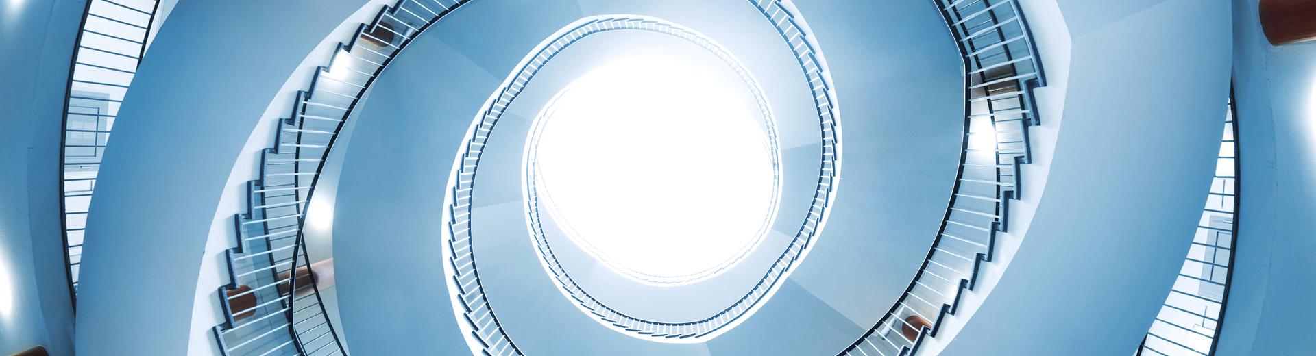 Treppenhaus Spirale