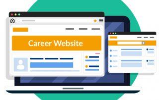 Karriere-Webseiten Zeitarbeitsbranche