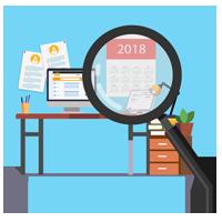Jahresüberblick Stellenmarkt 2018