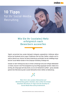 White Paper Social-Media-Recruiting von index